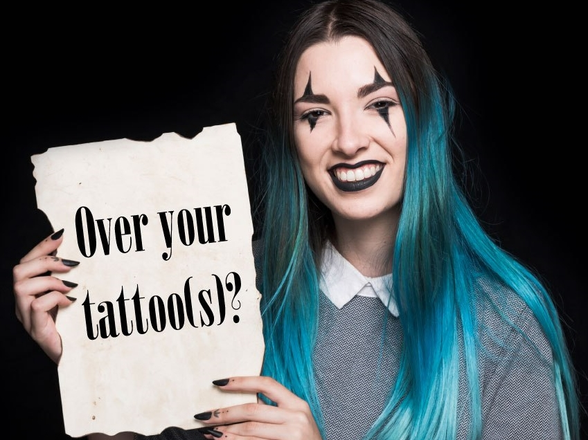 Outdated tattoos troubling you?